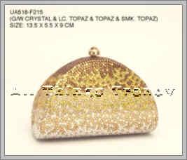 Anthony David Swarovski Crystal Evening Bag