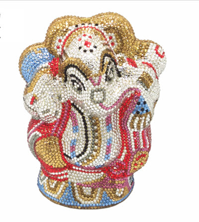 Anthony David Handbag with Swarovski Crystal - Ganesh