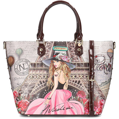 Nicole Lee Paris Dreams Tote Style Purse