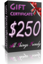 Gift Certificate -  $250