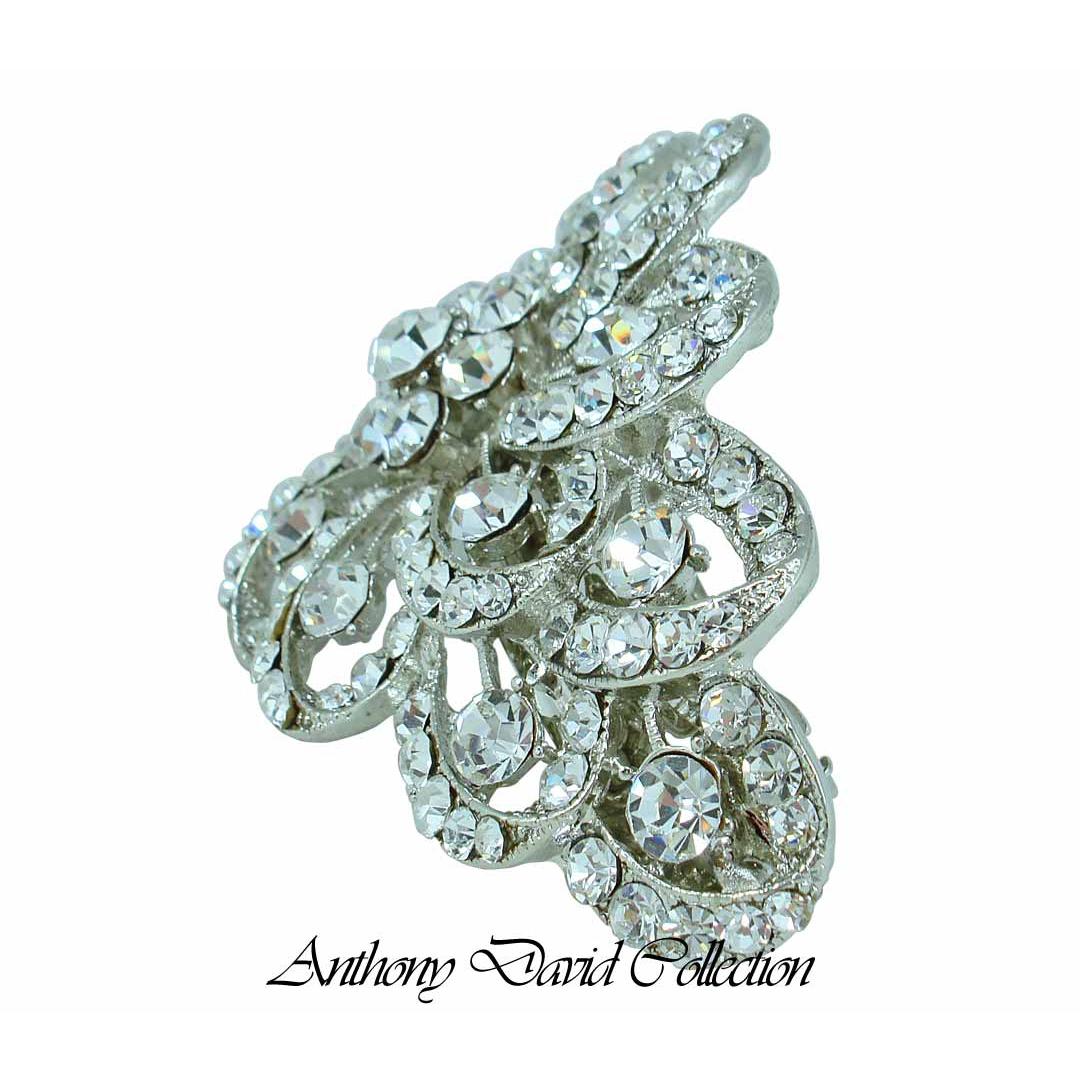 Anthony David Hair Accessory Clip With Swarovski Crystal