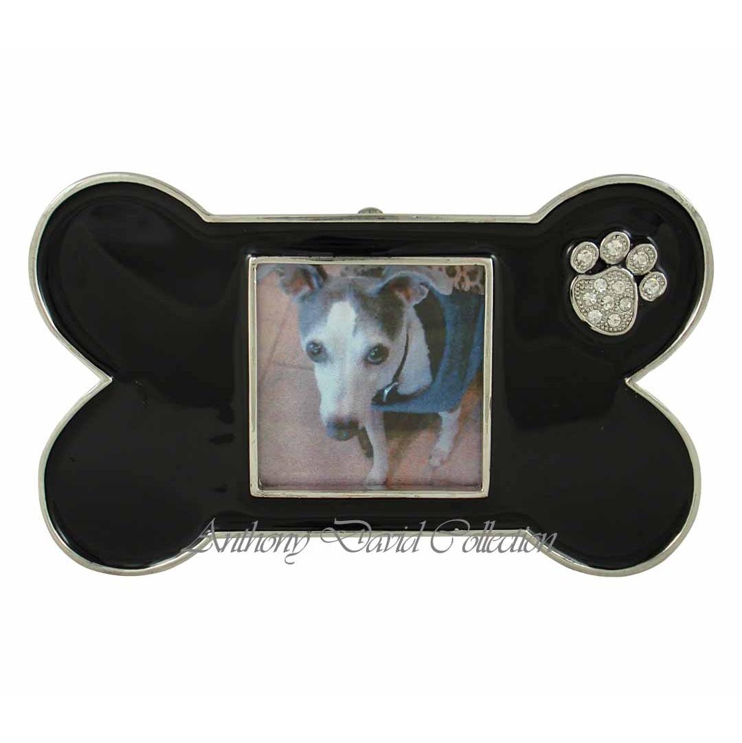 Doggie Bone Photo Frame Paw Prints