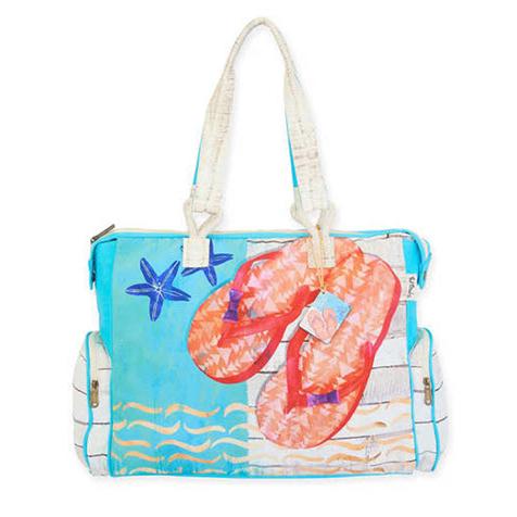 eba172f22087 Artist Paul Brent Beach Bag Tote - Sunshine Sandals