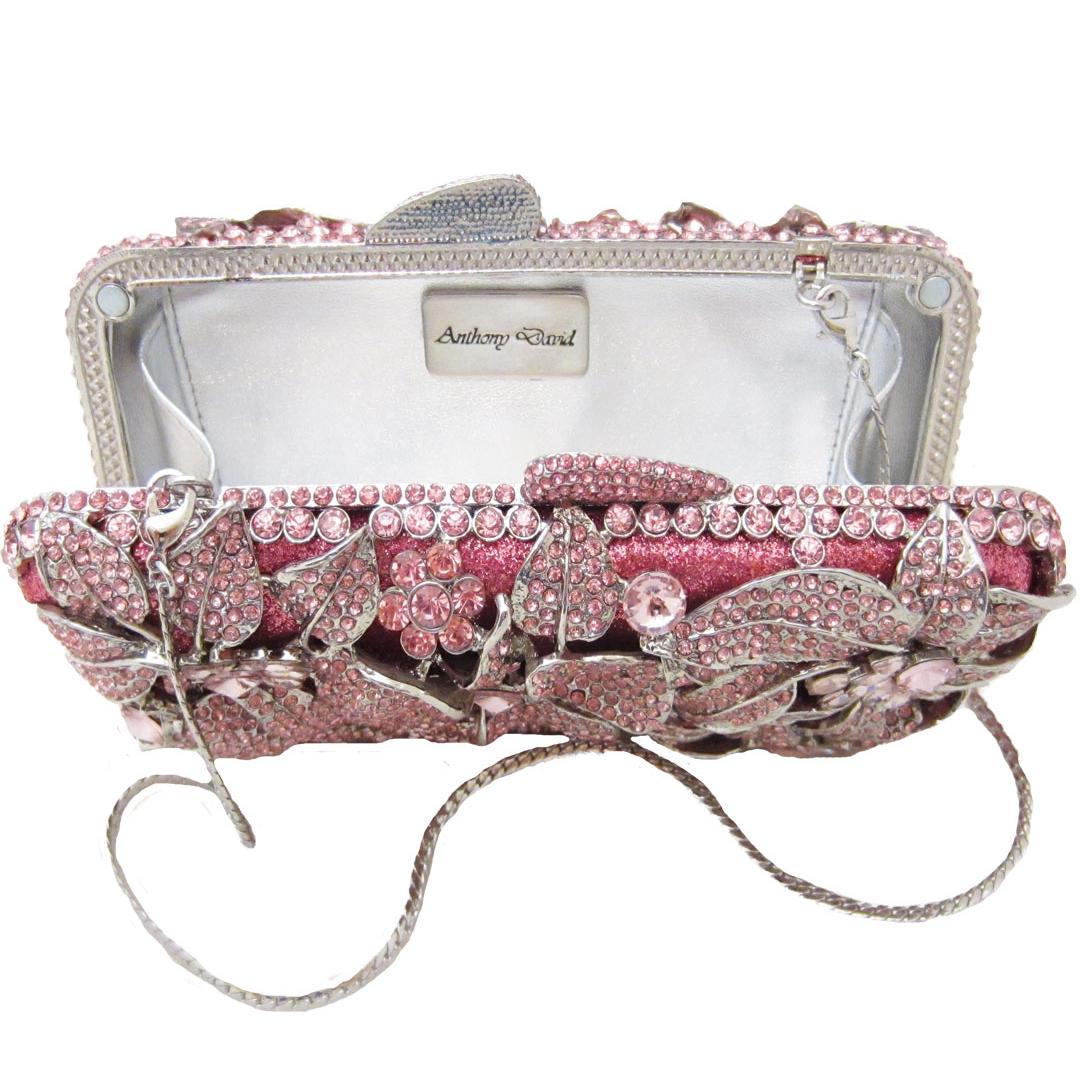 Product Reviews Testimonials Pink Crystal Evening Bag