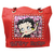 Red Betty Boop Leather Purse