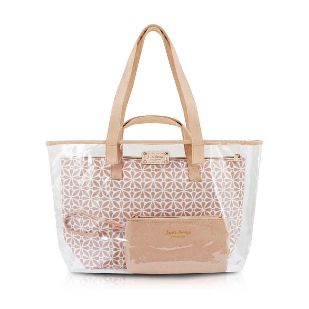 Contour Clear Travel Tote Bag Choose