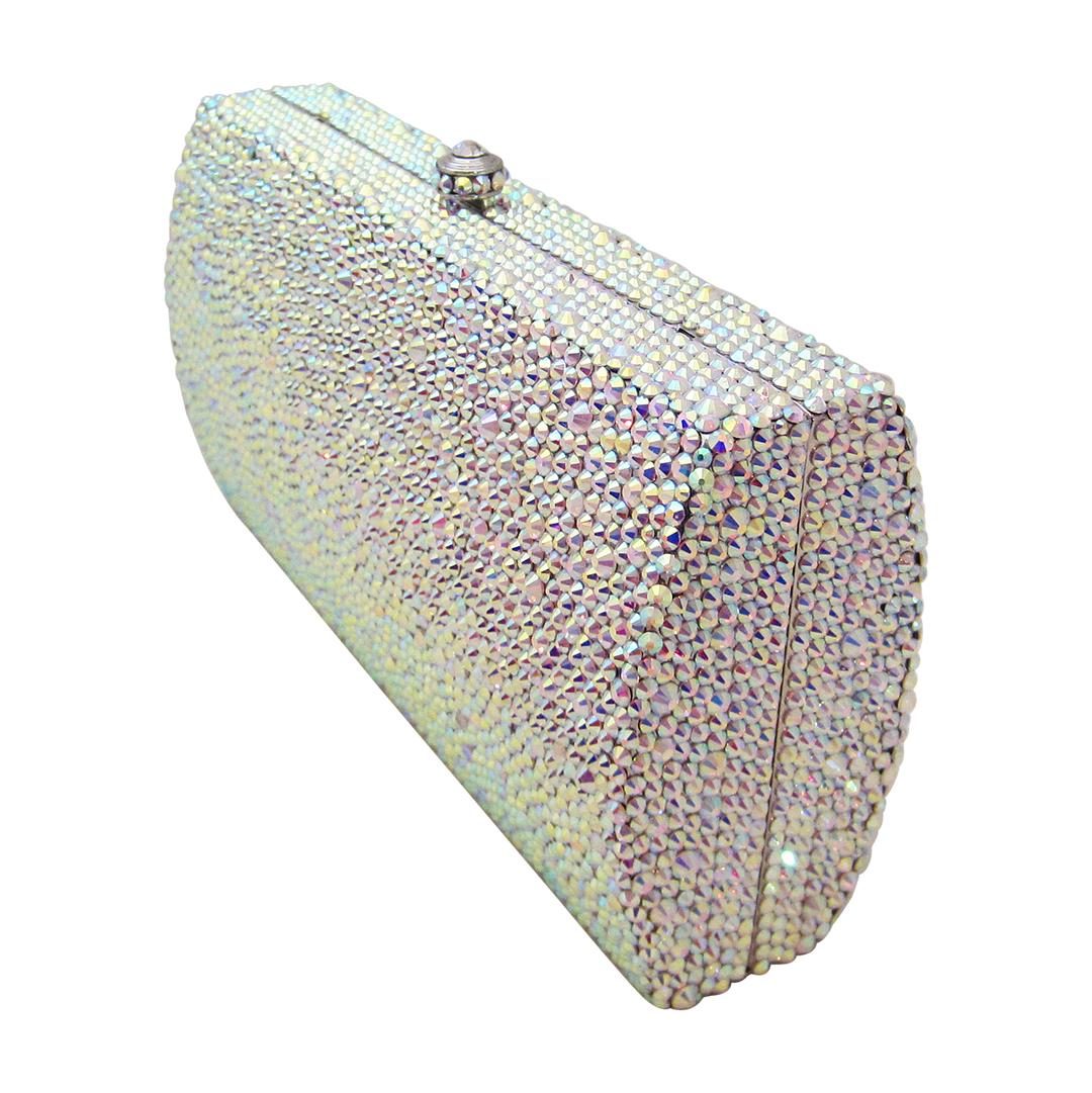 Anthony David Crystal Handbag Classica Aurora Borealis