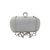 Anthony David Crystal Ring Evening Bag - Clear Crystal