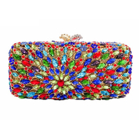 Anthony David Crystal Handbag - Kaleidoscope Jewel