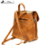 Montana West Vegan Leather Backpack - Brown